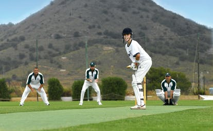 La Manga Club Resort Eastern Spain cricket men playing cricket