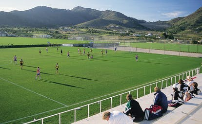 La Manga Club Resort Eastern Spain football kids playing football outside