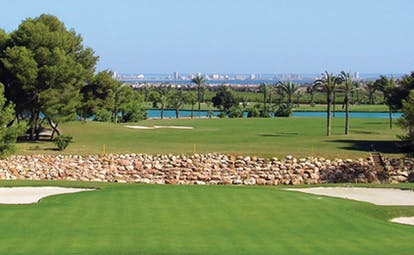 La Manga Club Resort Eastern Spain golf course sand traps water