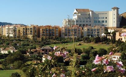 La Manga Club Resort Eastern Spain hotel complex gardens flowers