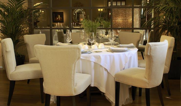 A Quinta Da Auga Galicia restaurant indoor dining area traditional décor