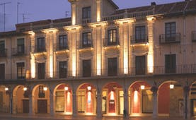 NH Collection Leon Plaza Mayor Green Spain exterior hotel building