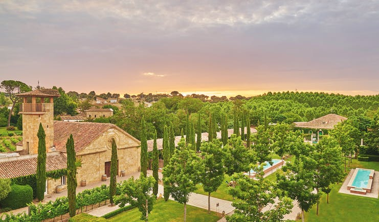 Hacienda Zorita Heart of Spain gardens trees lawns pool