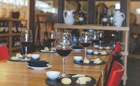 Hacienda Zorita Heart of Spain wine and cheese