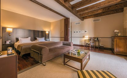 Hospes Palacio de San Esteban Heart of Spain superior room modern décor original features