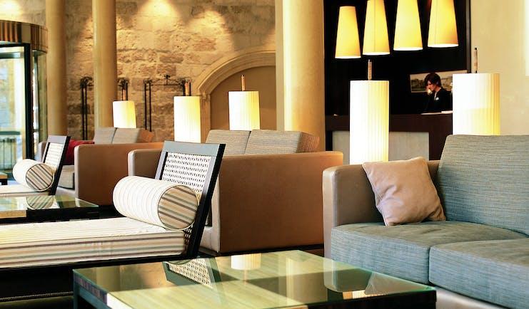 Palacio de la Merced Heart of Spain lobby indoor communal seating modern décor