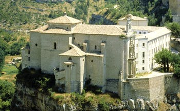 Parador de Cuenca Heart of Spain exterior monastery building countryside surrounds