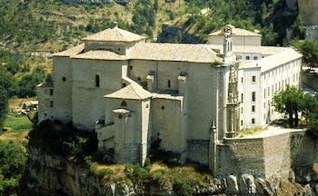 Parador de Cuenca Heart of Spain exterior monastery building countryside surrounds