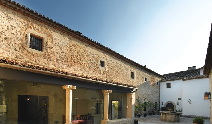 Parador de Trujillo Heart of Spain patio original architectural features