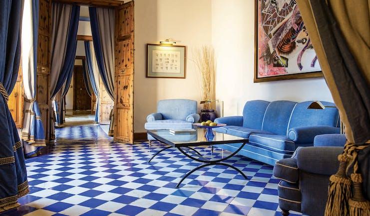 Gran Hotel Son Net Mallorca lounge armchairs sofa elegant décor