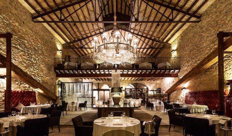 Gran Hotel Son Net Mallorca restaurant indoor dining area ornate décor original architecture
