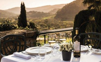 Gran Hotel Son Net Mallorca terrace outdoor dining countryside views
