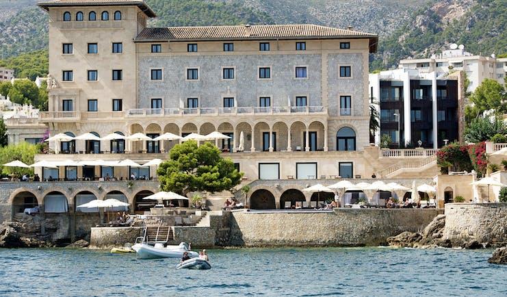Hospes Maricel Mallorca exterior hotel building terraces coast marina