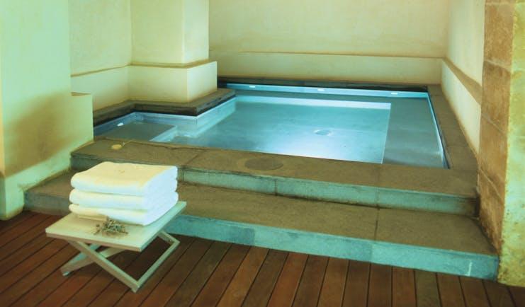Convent de la Missio Mallorca plunge pool indoor pool spa