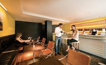 Hotel Miro Bilbao bar people drinking stylish décor