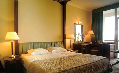 Mount Lavinia Hotel Sri Lanka bay wing room bedroom writing desk