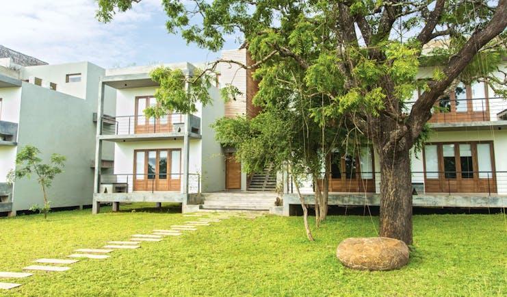 Aliya Sri Lanka exterior buildings lawns trees