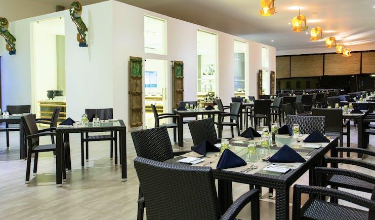 Aliya Sri Lanka restaurant indoor dining area modern décor