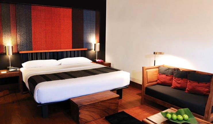 Heritance Kandalama Sri Lanka bedroom minimalist decor sofa