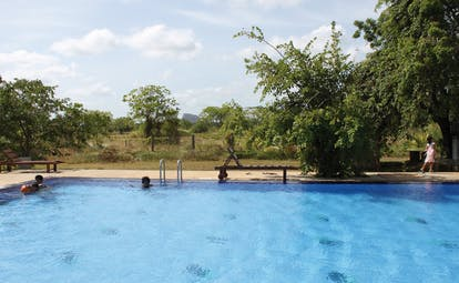 Kassapa Lion Rock Sri Lanka outdoor pool countryside view