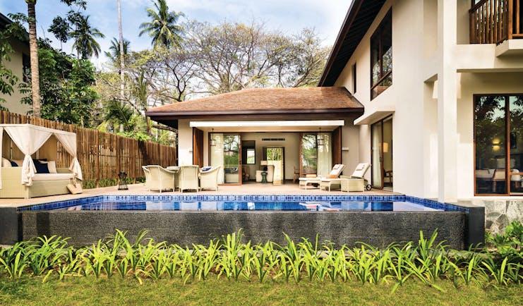 Anantara Peace Haven Tangalle Sri Lanka pool private terrace outdoor seating