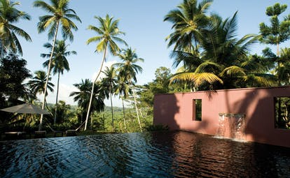 Kahanda Kanda Sri Lanka pool waterfall infinity pool gardens
