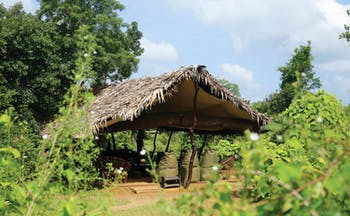 Noel Rodrigos Leopard Safari Sri Lanka base camp exterior countryside