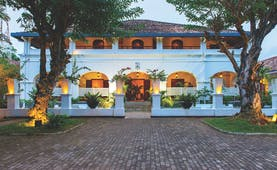 Tamarind Hill Sri Lanka exterior hotel building trees patio