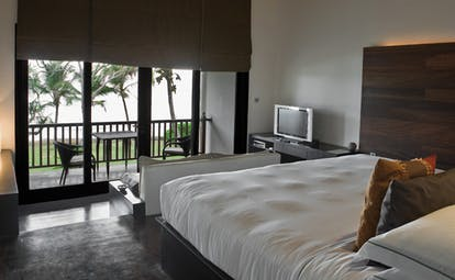 The Fortress Sri Lanka loft bedroom modern minimalist decor balcony