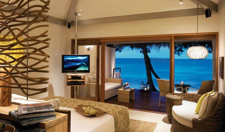 Weligama Bay Resort Sri Lanka beach view with vegetation