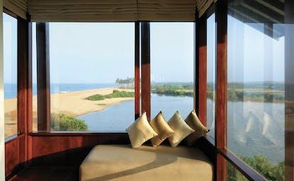 Anantaya Chilaw Resort Sri Lanka premium room window panoramic views