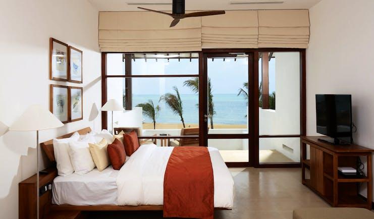 Anantaya Chilaw Resort Sri Lanka superior room beach facing terrace modern décor