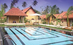 Ayurveda Pavilions Sri Lanka outdoor pool buildings loungers yoga pavilion
