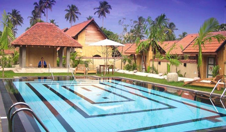 Ayurveda Pavilions Sri Lanka outdoor pool buildings loungers yoga pavilion