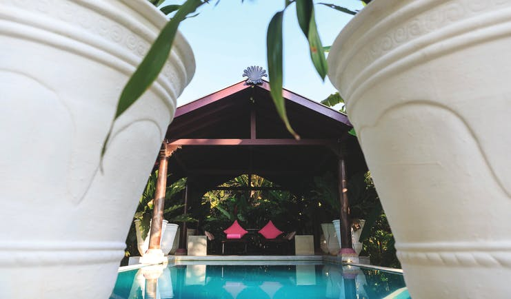 Casa Heliconia Sri Lanka pool chairs covered terrace