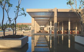 Amaya Beach Resort Sri Lanka exterior water feature modern architecture