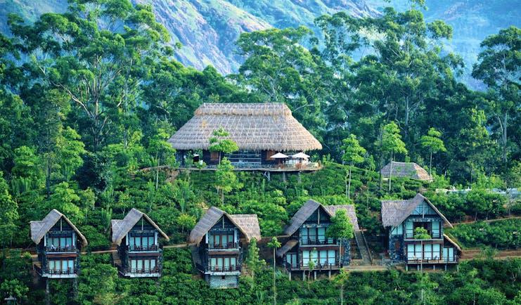 98 Acres Resort Sri Lanka terrace outdoor seating area stunning countryside views