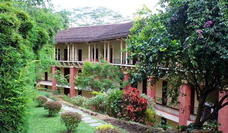 Amaya Hills Sri Lanka exterior hotel building with balconies gardens and trees