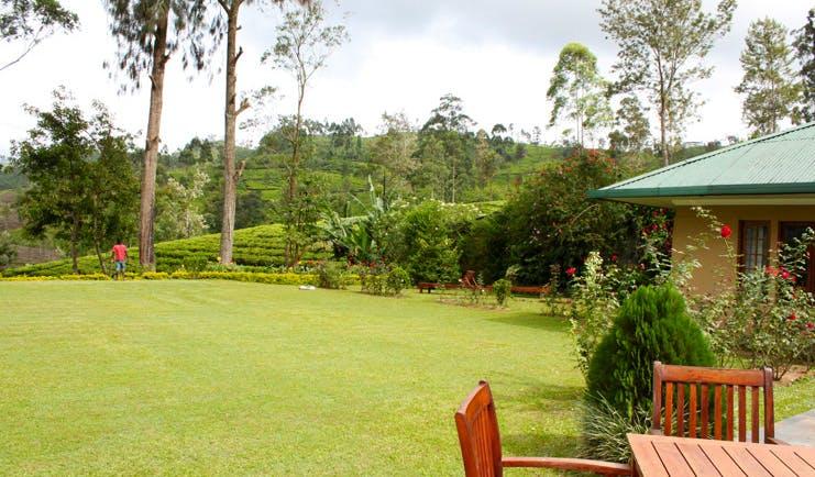 Ceylon Tea Trail Sri Lanka bungalow garden lawns forest flowers
