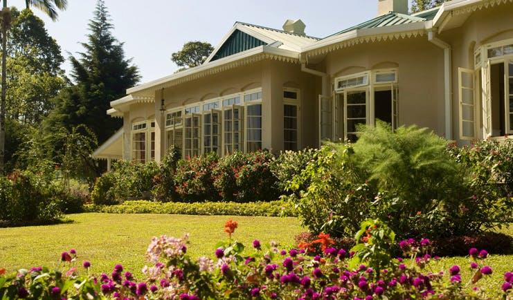 Ceylon Tea Trail Sri Lanka Castlereagh exterior bungalow and gardens
