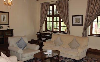Ceylon Tea Trail Sri Lanka sitting room with traditional decor