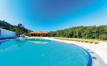 Cinnamon Citadel Sri Lanka pool sun loungers countryside surroundings
