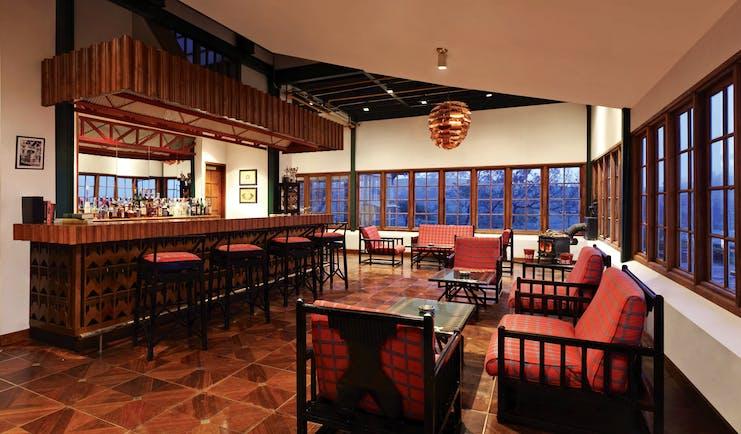 Heritance Tea Factory Sri Lanka bar indoor seating area colonial décor