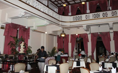 Hotel Suisse Sri Lanka indoor dining room traditional decor