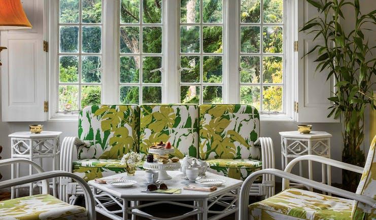 Taylor's Hill Sri Lanka morning room indoor communal seating area elegant décor