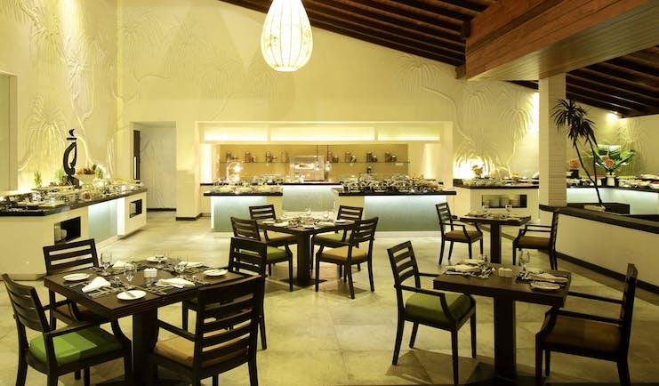 Avani Kalutara Sri Lanka restaurant indoor dining area modern décor