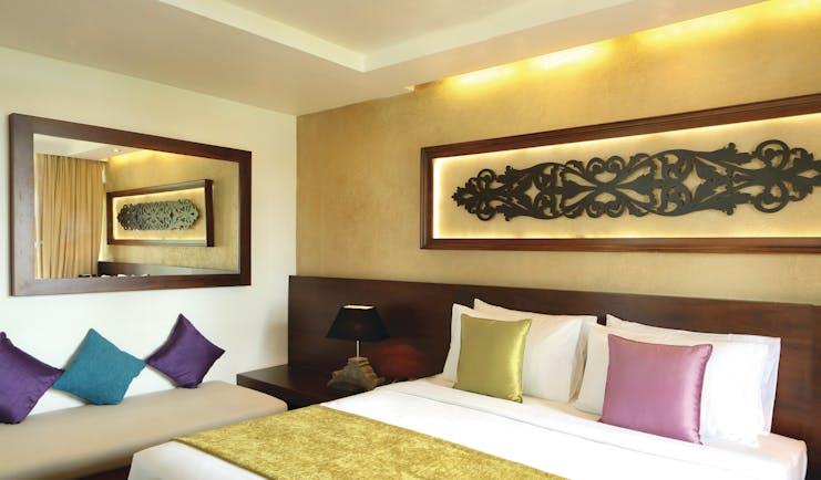 Avani Kalutara Sri Lanka superior room bed modern décor