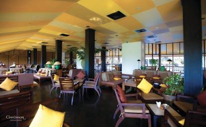 Bentota Beach Sri Lanka lounge communal indoor seating area modern décor