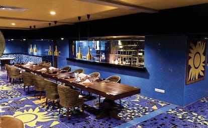 Cinnamon Bey Sri Lanka restaurant colourful tiles authentic décor