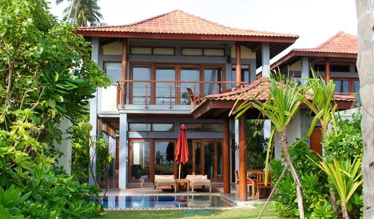 Serene Pavilions Sri Lanka ocean pavilion exterior private pool terrace